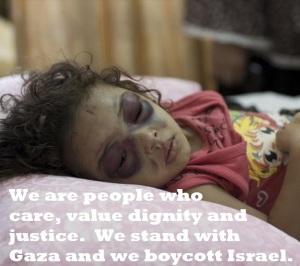 Gaza 5.bocott photo.girl.22